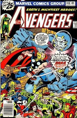 Avengers #149, Orka vs Thor