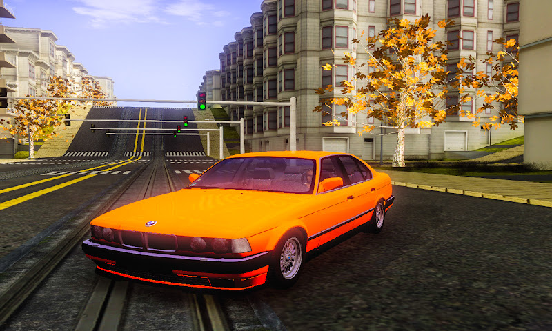 BMW E32 Stock GTA San Andreas