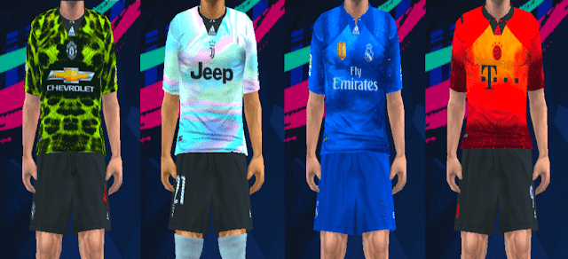 pretty nice 5c101 5b529 ultigamerz: PES [PPSSPP] Adidas X EA Sports Digital 4th Kits ...
