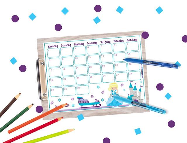 gratis kalender 2018, kalender 2018 voor kinderen, kalender voor jongens, kalender om te printen, 2018 kalender, kalender printen, printable kalender, lieve kalender, stoere kalender, frozen kalender, brandweermannen kalender, schattige kalender, januari kalender, kalender januari