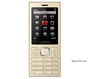 Symphony S50 Mobile Price And Full Specifications In Bangladesh