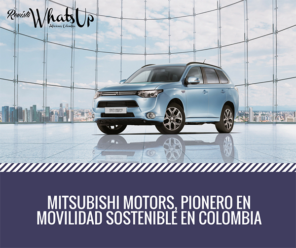 Mitsubishi-Motors-pionero-movilidad-sostenible-Colombia