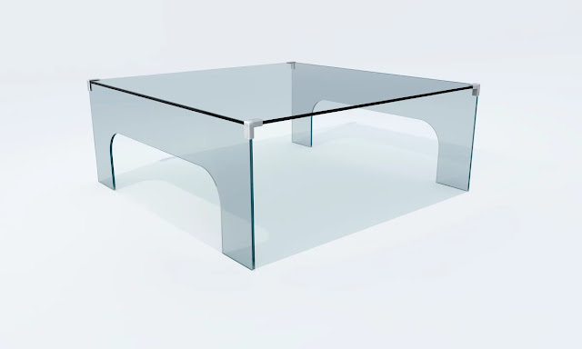 EDEN GLASS COFFEE TABLE