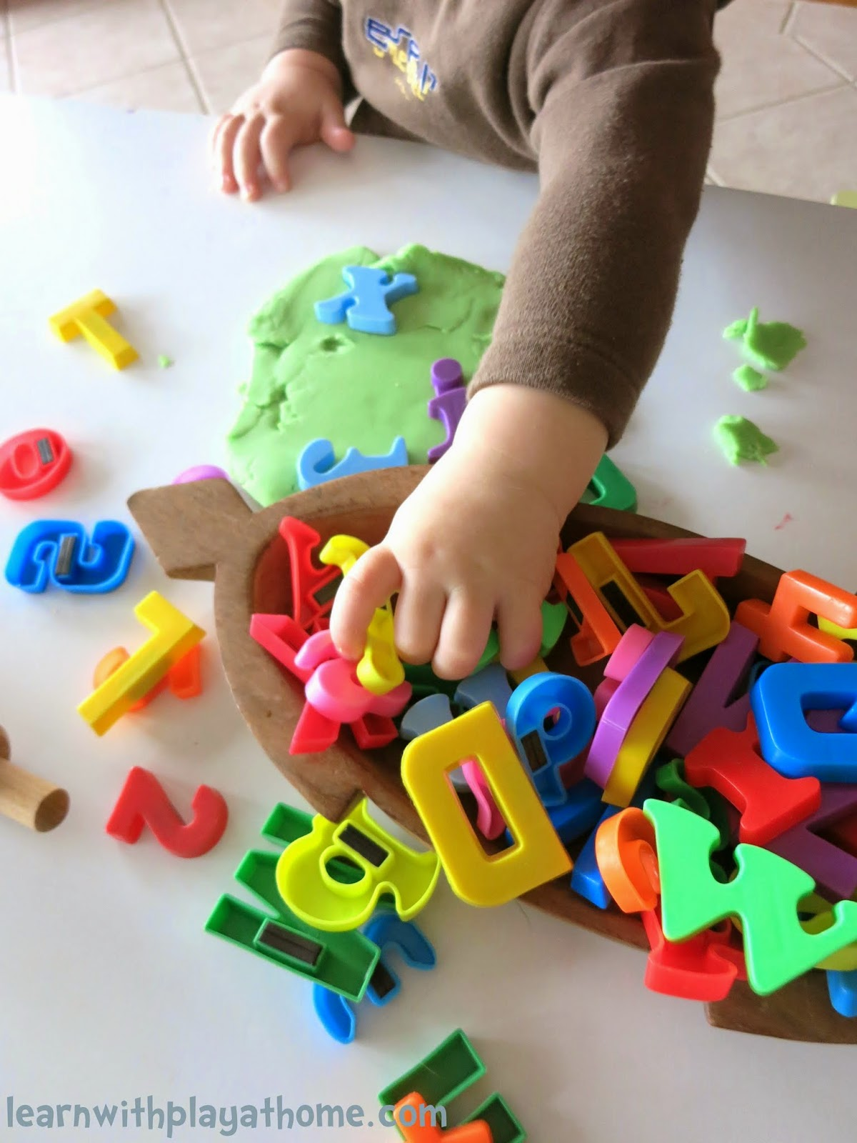 Learn with Play at Home Invitation to Play and Learn with