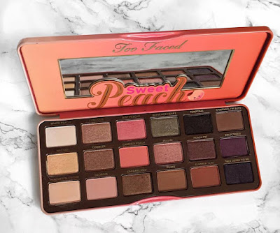 TooFaced Sweet Peach Palette, Honest review.