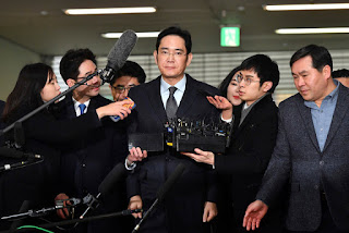 Samsung Bribery Scandal South Korea