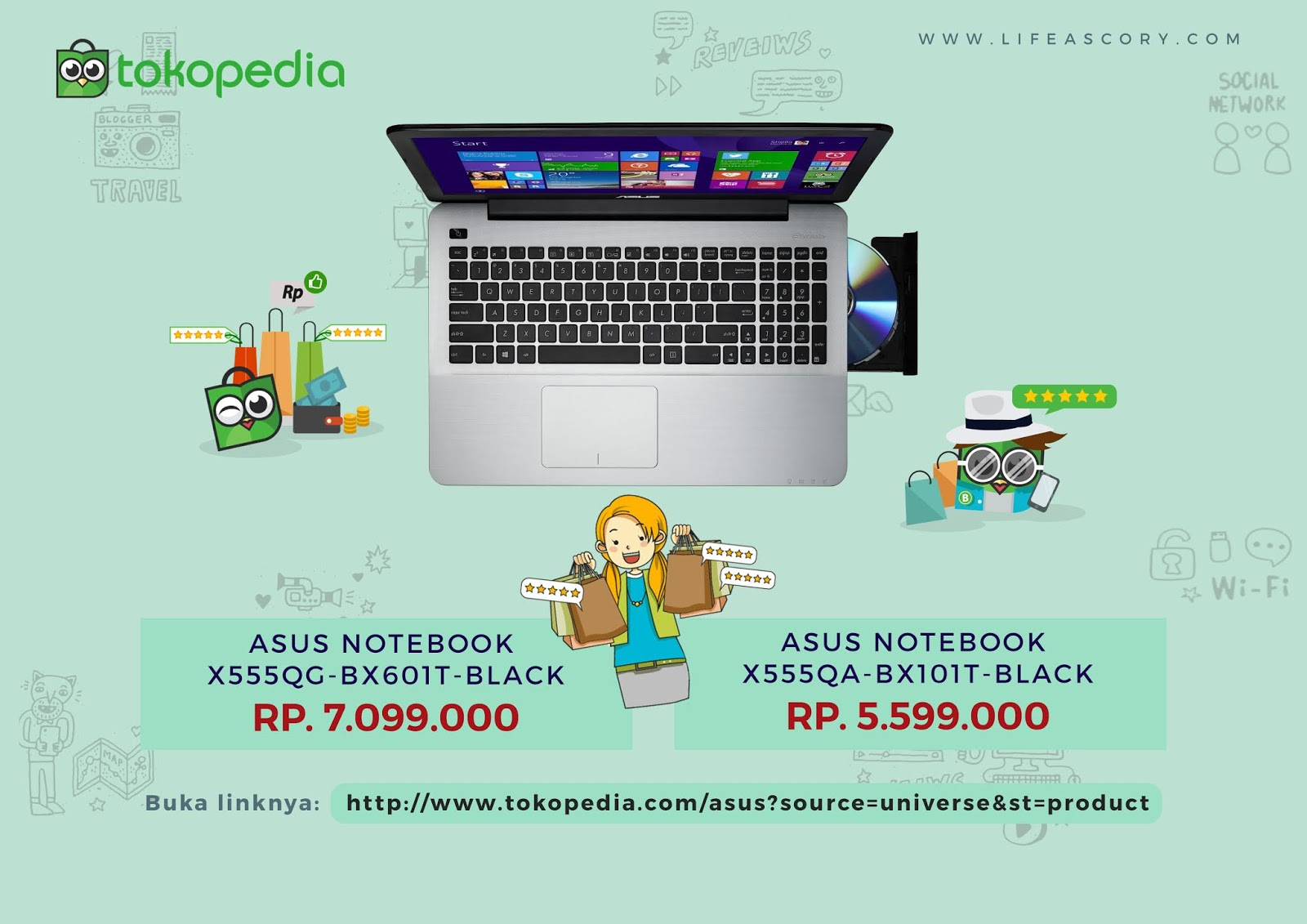 ASUS on Tokopedia :)