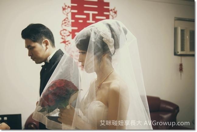 新娘捧花-頭紗-軟頭紗-婚紗-簡約頭紗
