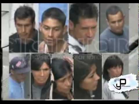 Así atracan en Bogotá - Colombia (Video)