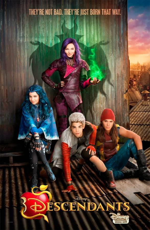 Descendentes Torrent - WEB-DL 1080p Dual Áudio (2015)