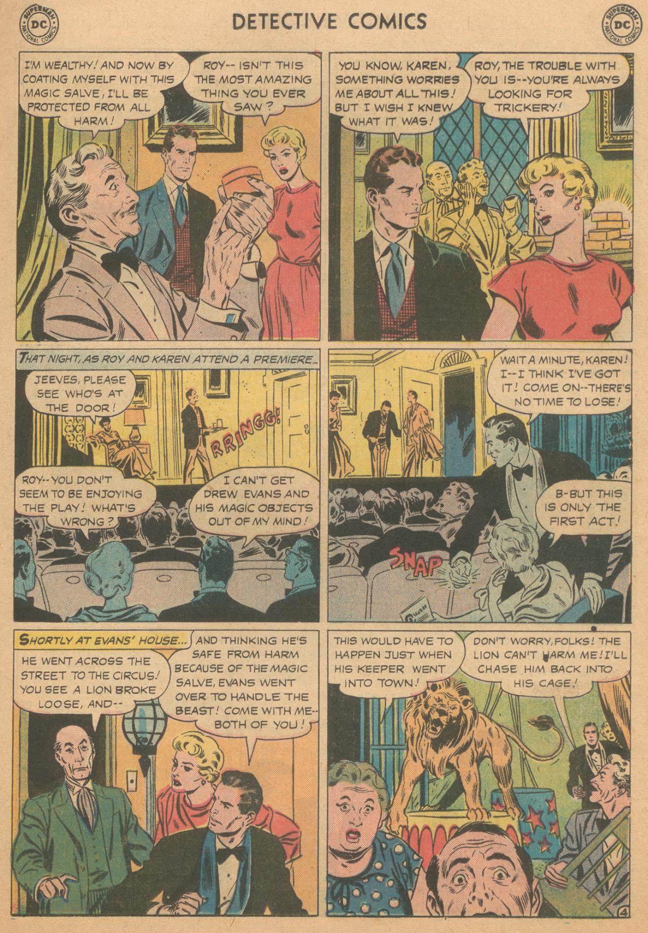 Read online Detective Comics (1937) comic -  Issue #261 - 21