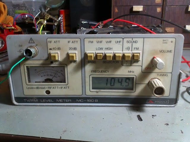 TV/FM Level Meter MC-160N Promax