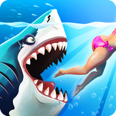 Download Hungry Shark World APK + Data Android Game