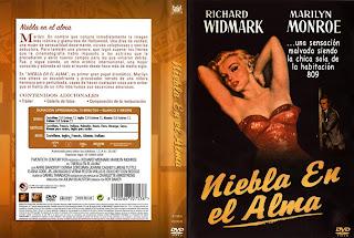 Carátula - Niebla en el alma - Marilyn Monroe