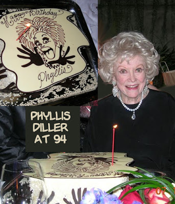 Ronald L Smith Phyllis Diller S 94th Birthday July 17th