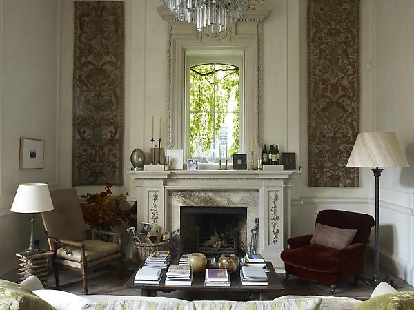Rose Uniacke - Interiors - Ladbroke Grove House, London