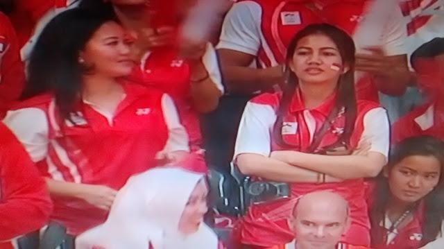 Suporter Bulutangkis Indonesia