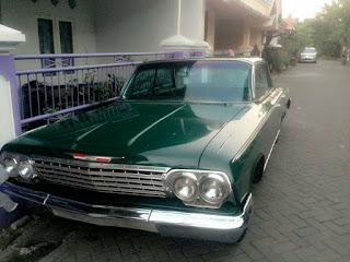 LAPAK MOBIL KLASIK : Dijual Mobil Tua Amerika Impala 1961