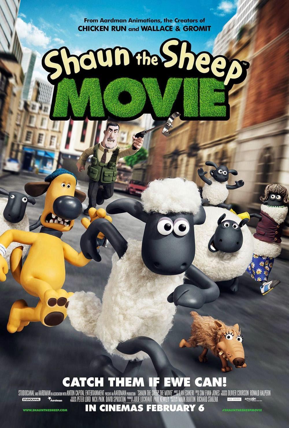 Shaun the Sheep Movie แกะซ่าฮายกก๊วน [HD]