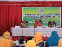 Buka MGMP, Irvan Ismail : ini Forum Yang Sangat Strategis