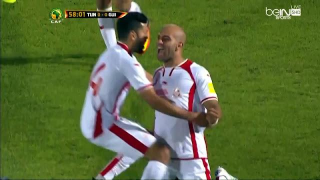 اهداف تونس وغينيا