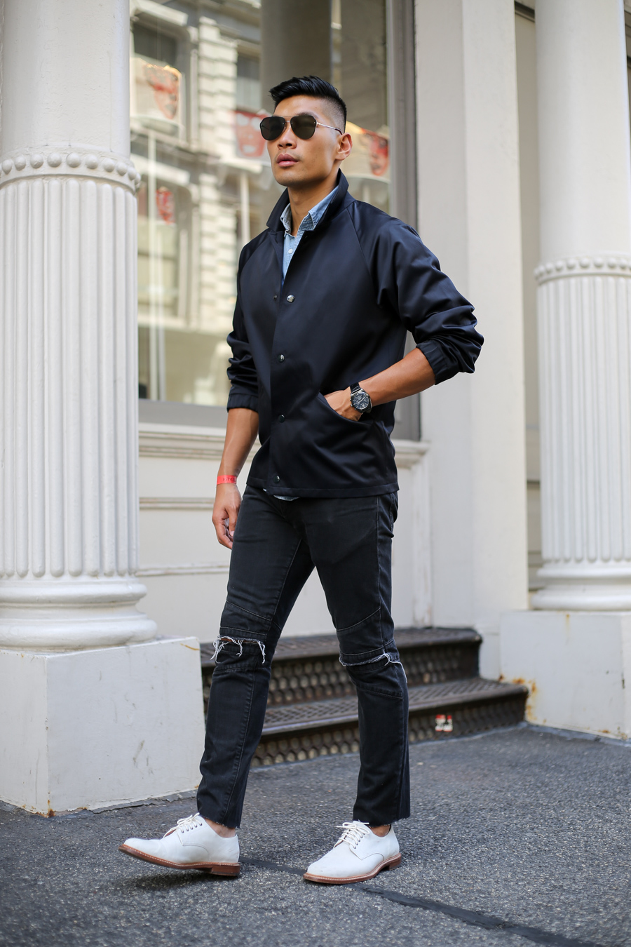 NYFWM, Marc Jacobs, menswear, Levitate Style, Leo Chan, Alicia Mara