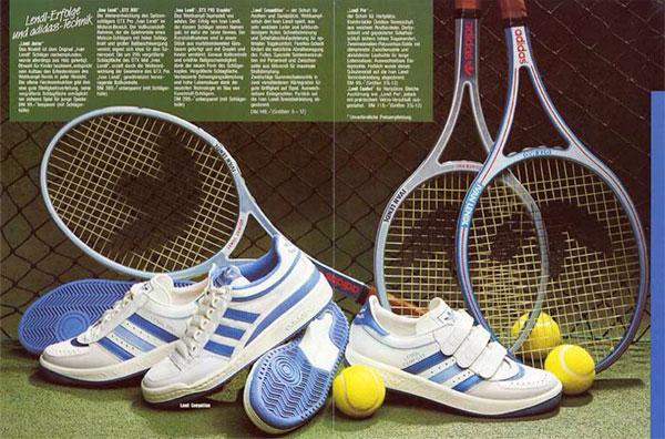 Chuchalanachubelembe Vintage Adidas Tennis Ads