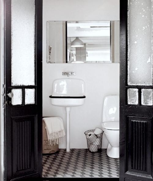 Piccoli bagni di servizio o per gli ospiti dettagli home decor - Bagni bellissimi moderni ...