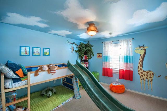 La chambre d'enfants doit être magique et magnifique pour plaire à votre enfant
