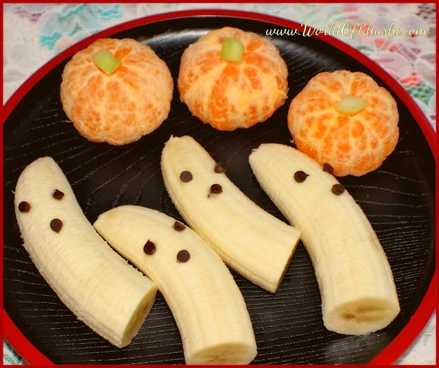KhushiWorld_BooPumpkinFruitPlate_HalloweenSpecial