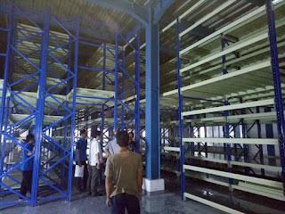 Project Mezzanine Racking PT. Dinasira Sembada Cikupa Mas (Nike Sport)