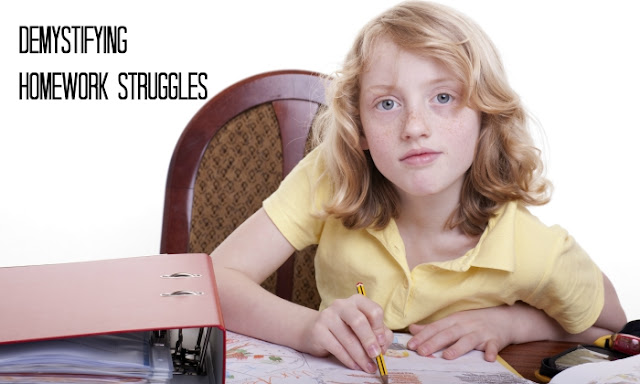 Why does your child struggle with homework and how to help