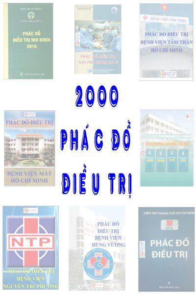 2000 Phac do dieu tri benh