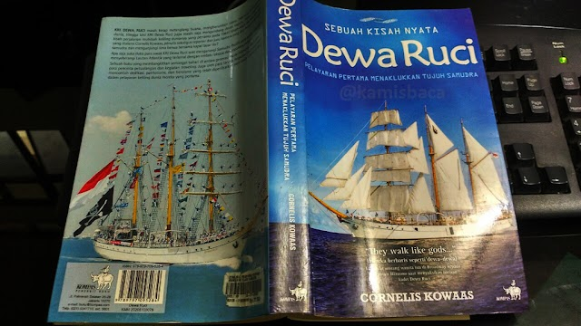 Review Buku Dewa Ruci: Pelayaran pertama menaklukkan tujuh samudra