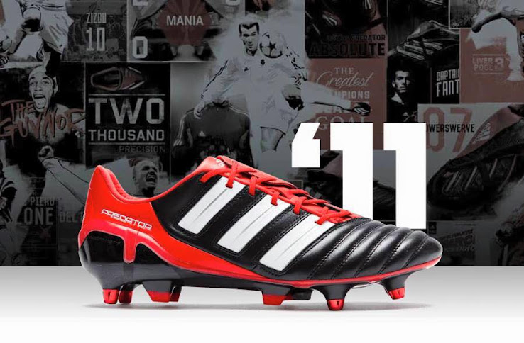 sports shoes b17a2 dbd28 Full Adidas Predator History - 1994-2018 - Footy Headlines