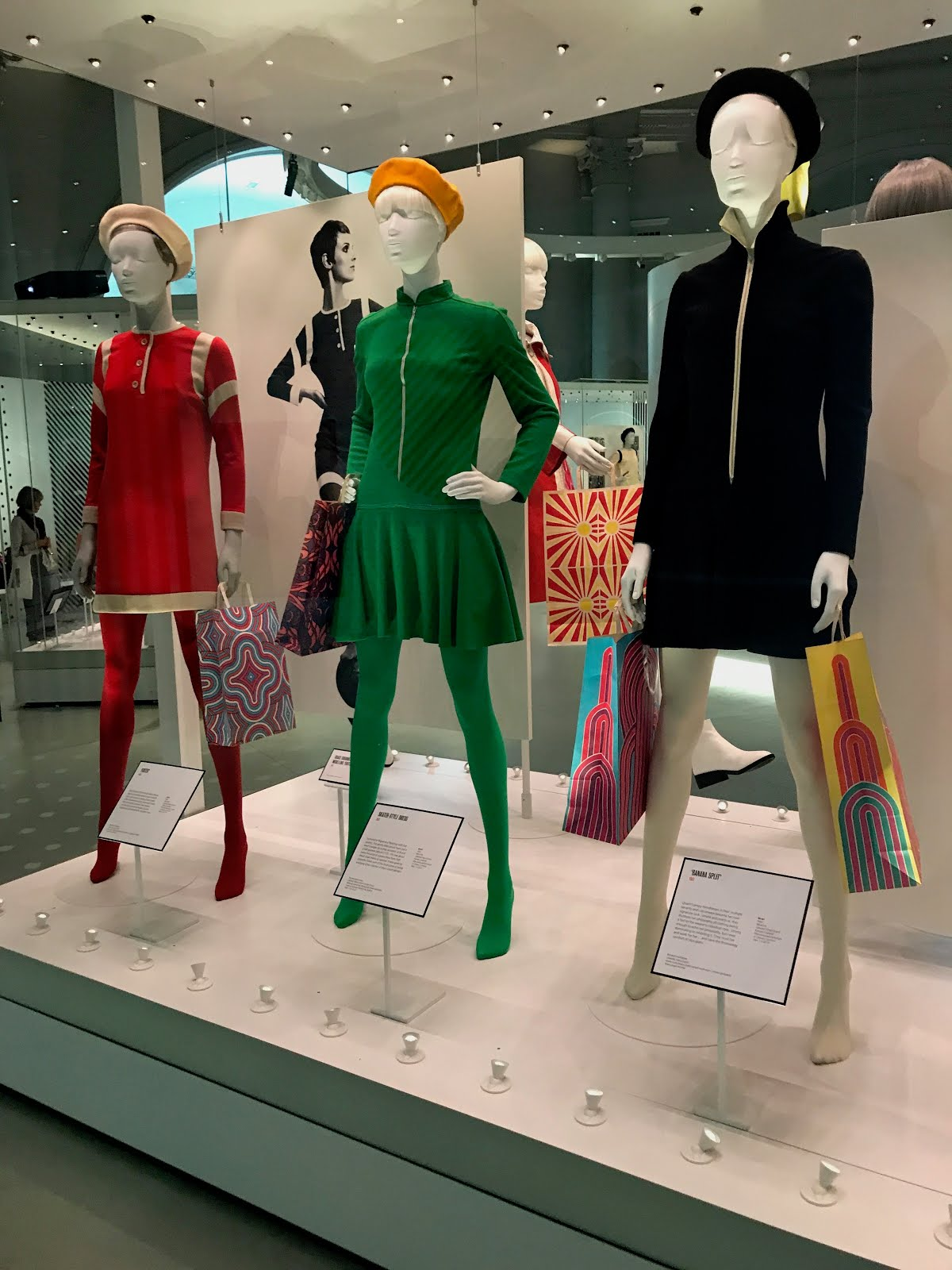 Mary Quant exhibition V&A