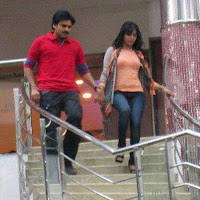 Pawan kalyan, samantha trivikram new movie working stills