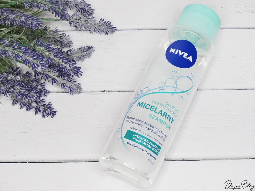 Micelarny szampon Nivea