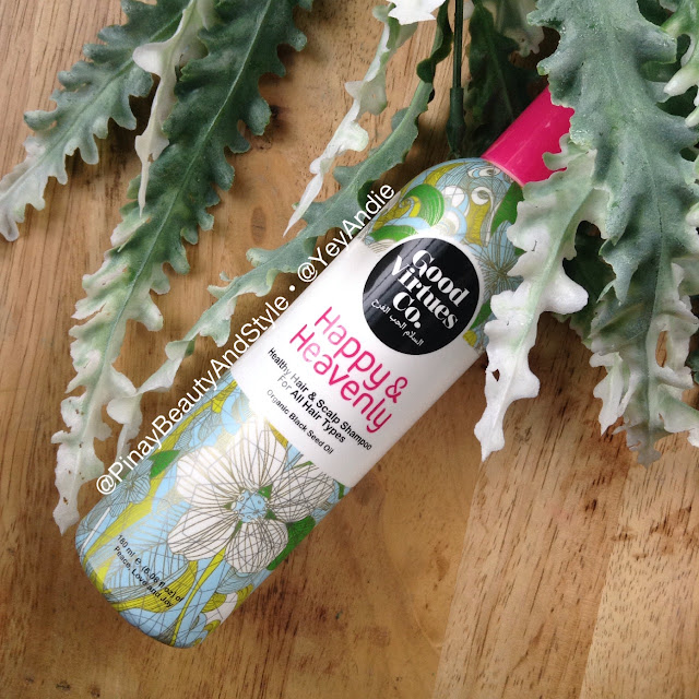 REVIEW Good Virtues Co Happy and Heavenly Shampoo