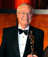 Roger Corman con su Oscar honorífico