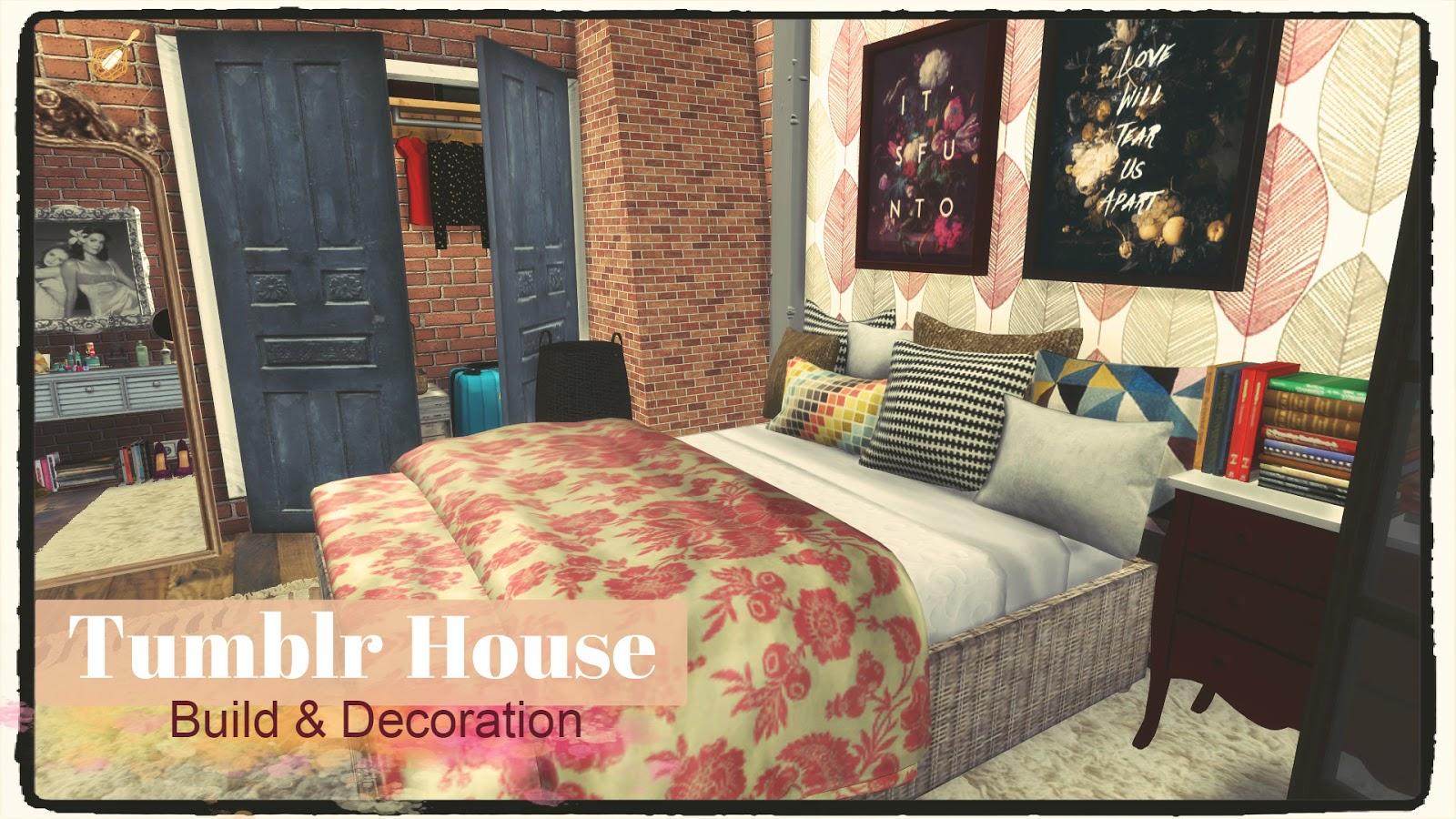 Sims 4 tumblr house dinha for Tumblr hom