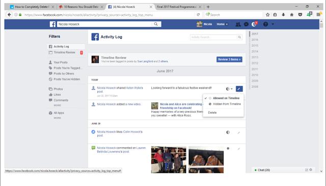 كيفية حذف حساب فيسبوك نهائيا دون الانتظار 14 يوم 2018