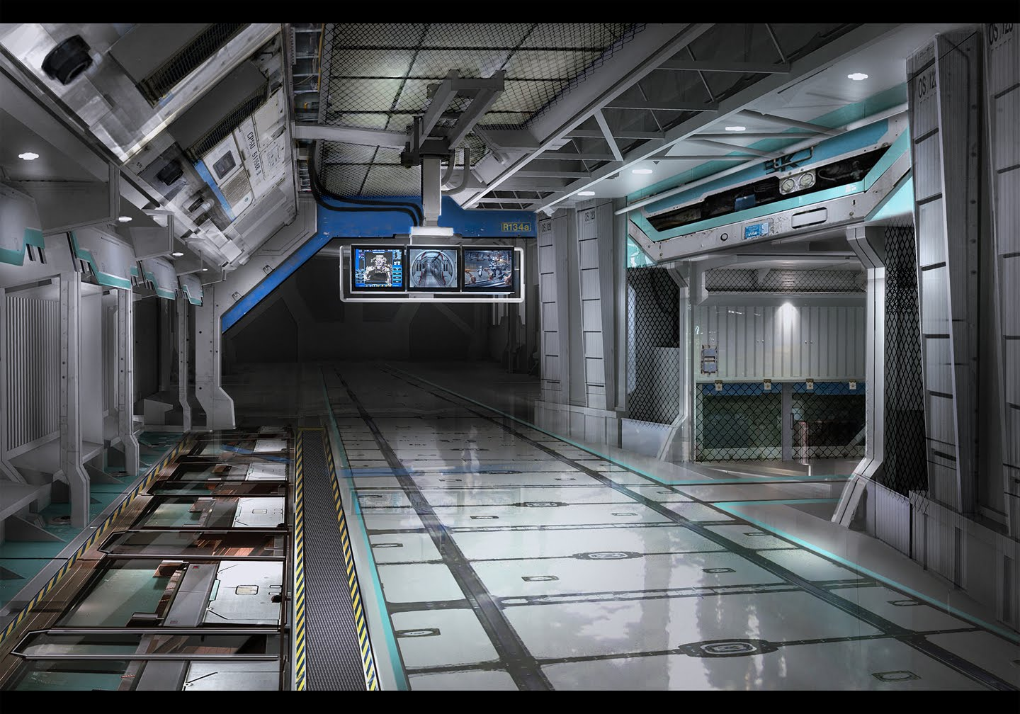 Sci Fi Space Station Interior (page 3) - Pics about space
