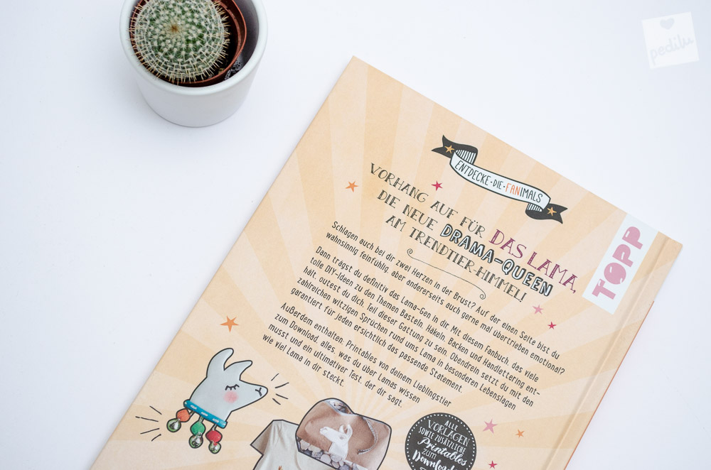 7 Lama-Ideen zum Verlieben – Bastelbuch