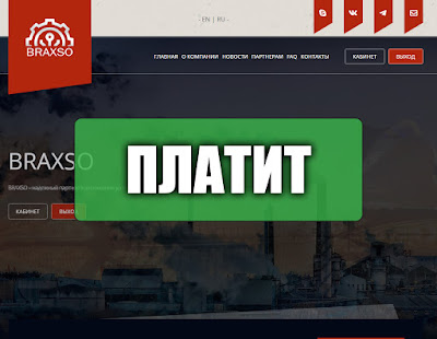 Скриншоты выплат с хайпа braxso.com