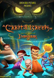 Chhota Bheem and the Curse of Damyaan (2012) Hindi 250MB HDRip 480p x264