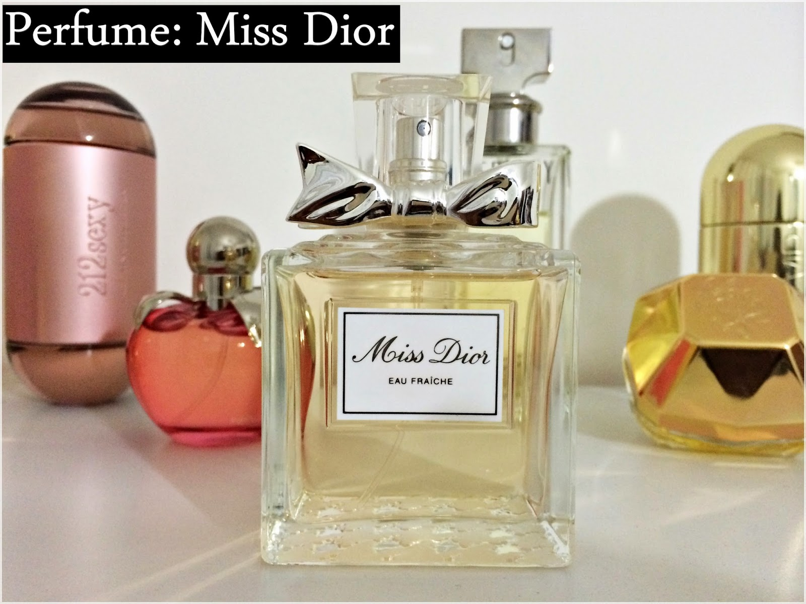 """4aef033f022 Segundo a marca  """"A fragrância Miss Dior foi criada para uma jovem  elegante"""