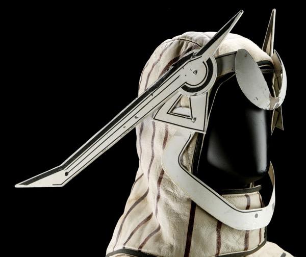 Sark Tron costume headpiece