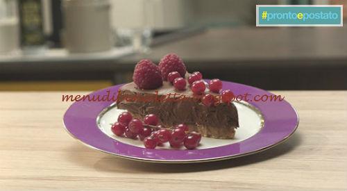 Pronto e postato - Cheesecake al cioccolato ricetta Benedetta Parodi