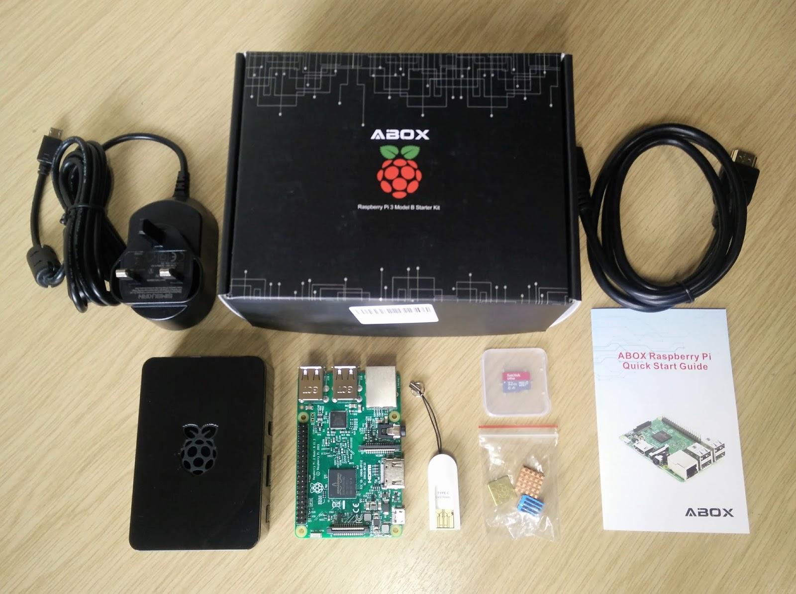 ABOX Raspberry Pi 3 Starter Kit Review